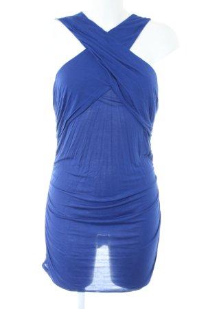Armani Exchange Sweat Dress blue casual look