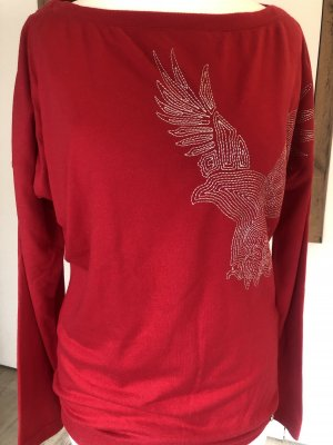 Armani Exchange T-shirt rosso scuro