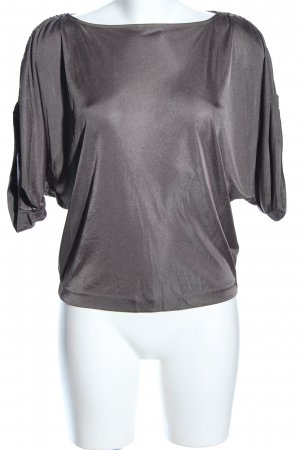 Armani Exchange T-Shirt light grey flecked casual look
