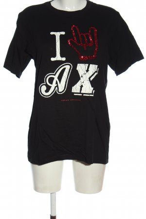 Armani Exchange T-shirt prints met een thema casual uitstraling