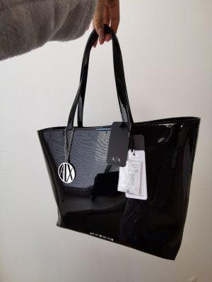 Armani Exchange Shopper black