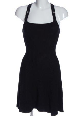 Armani Exchange Trägerkleid schwarz Casual-Look
