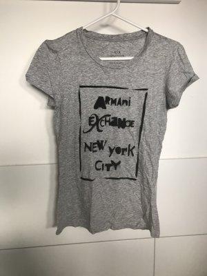 Armani Exchange T-shirt gris