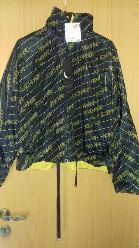 Armani Omkeerbaar jack donkerblauw-neongeel