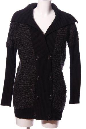 Armani Exchange Wollpullover schwarz Casual-Look