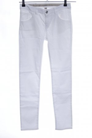 Armani Five-Pocket Trousers white casual look