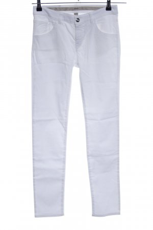 Armani Five-Pocket-Hose weiß Casual-Look