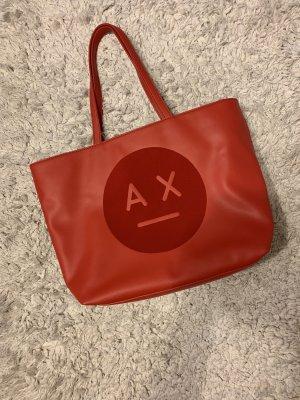 Armani Exchange Handbag dark red-brick red