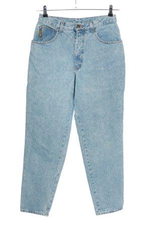 Armani Jeansy z wysokim stanem niebieski