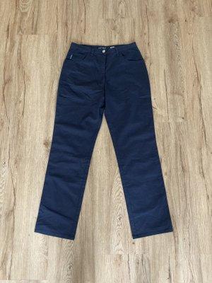 Armani Jeans Pantalón tobillero azul oscuro
