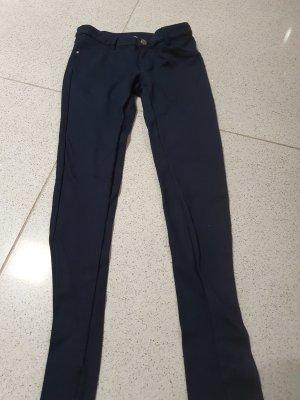 Armani Junior Stretch Trousers dark blue
