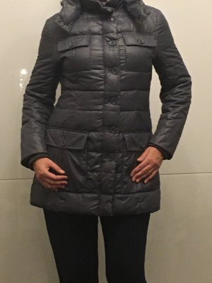 Armani Jeans Down Jacket grey-silver-colored