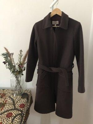 Armani Jeans Wool Coat black brown