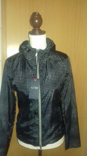 Armani Jeans Between-Seasons Jacket black-silver-colored