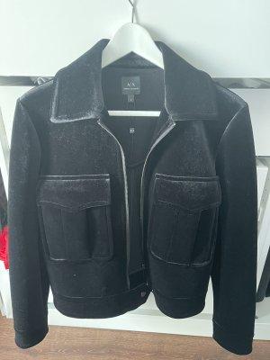 Armani Exchange Krótka kurtka czarny