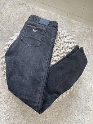 Armani Jeans Jeans skinny gris foncé-gris anthracite