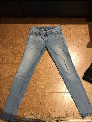 Armani Exchange Slim jeans azuur