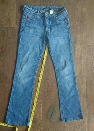 Armani Jeans Jeansy z prostymi nogawkami niebieski