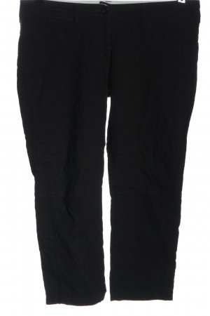 Armani Jeans 3/4 Length Trousers black casual look