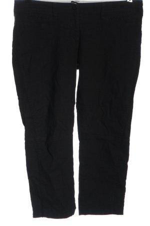 Armani Jeans Pantalon 3/4 noir style décontracté