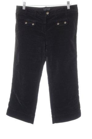 Armani Jeans 3/4-Hose schwarz Casual-Look