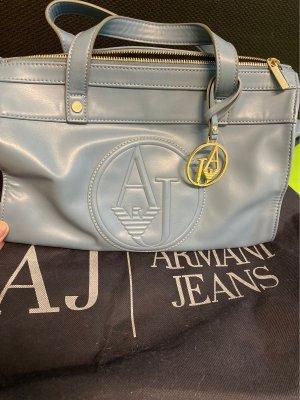 Armani Jeans Sac à main bleu pâle