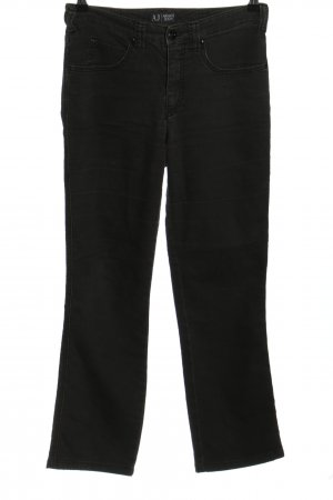 Armani Jeans 7/8 Length Jeans black casual look