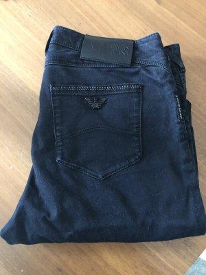 Armani Jeans vita bassa nero