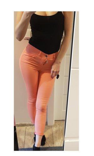 Armani Jeans Skinny jeans nude Gemengd weefsel
