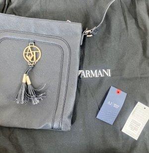 Armani Jeans Sac bandoulière noir-doré cuir