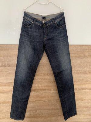 Armani Straight Leg Jeans dark blue