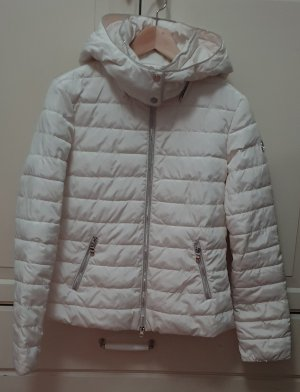 Armani Jeans Quilted Jacket white