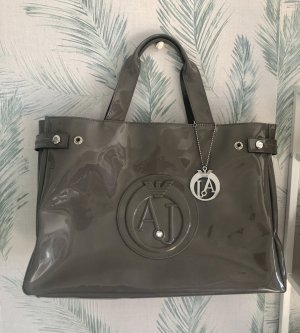 Armani Jeans Carry Bag grey