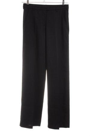 Armani Jeans Anzughose schwarz Business-Look
