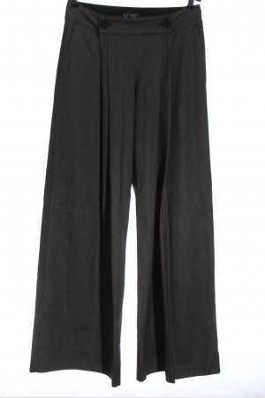 Armani Jeans Baggy Pants black-light grey abstract pattern casual look