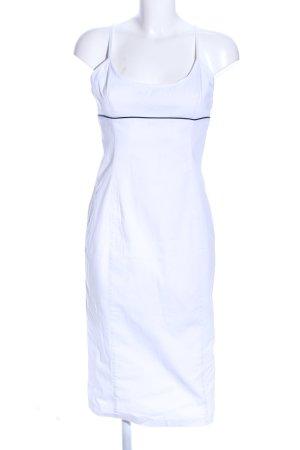 Armani Jeans Robe crayon blanc style décontracté