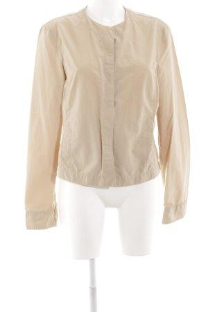 Armani Jeans Blusenjacke wollweiß Casual-Look