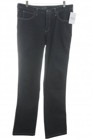 Armani Jeans Boot Cut Jeans dunkelblau Casual-Look