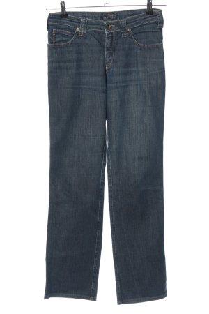 Armani Jeans Boyfriendjeans blau Casual-Look