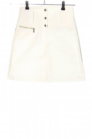 Armani Jeans Cargo Skirt natural white casual look