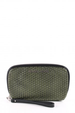 Armani Jeans Clutch khaki Business-Look