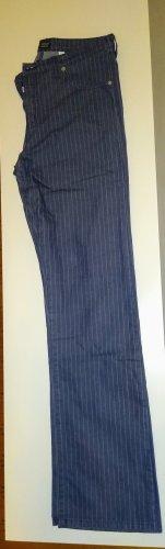 Armani Boot Cut spijkerbroek lichtgrijs-staalblauw