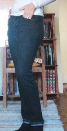 Armani Jeans dunkelgrau gerades Bein, leicht hüftig,  Eco Wash, 98% Baumwolle, 2% Elasthane, TOP Zustand, Gr 27, Gr. 36