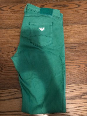 Armani Jeans Stretch Jeans green