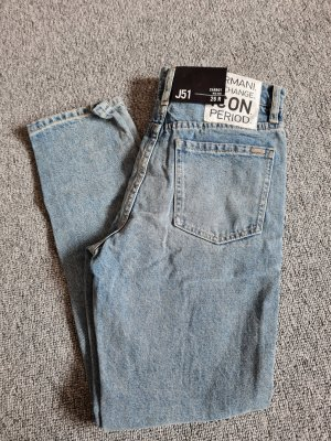 Armani Exchange Mom-Jeans blue-azure