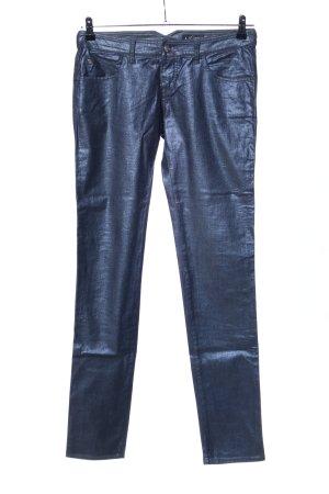 Armani Jeans Five-Pocket Trousers blue extravagant style