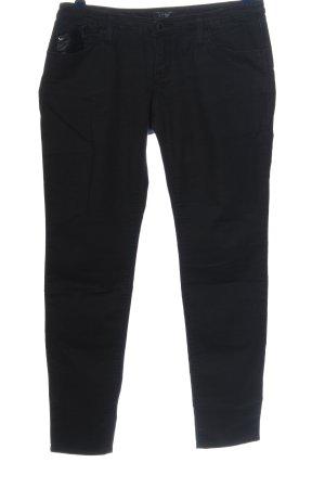 Armani Jeans Pantalon cinq poches noir style décontracté
