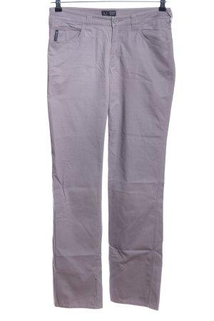 Armani Jeans Five-Pocket-Hose hellgrau Casual-Look