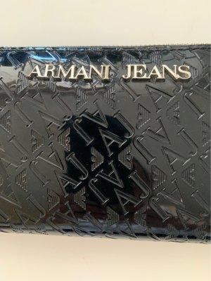 Armani Jeans Geldbörse Lackleder Neuwertig