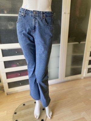 Armani Jeans High Waist Jeans steel blue